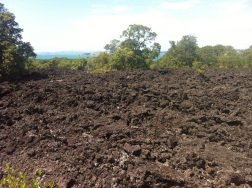 Lots of lava leftover from the eruption