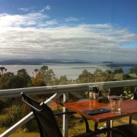 View from Mt Nelson